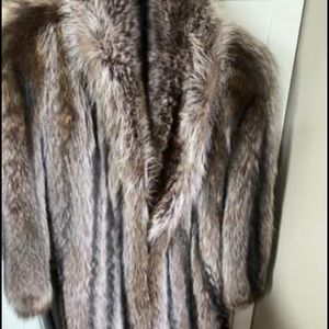 Jackets & Blazers - Vintage Fur Coat